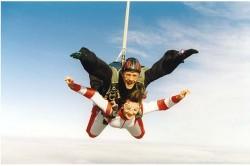 moniteur de parachutisme biplace TANDEM